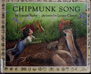 Cover of: Chipmunk song