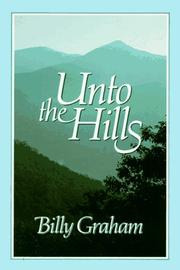 Cover of: Unto the hills: a daily devotional