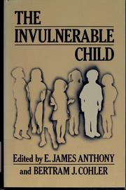 Cover of: The Invulnerable child