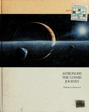 Cover of: Astronomy, the cosmic journey