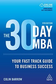 Cover of: The 30 day MBA