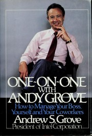 Cover of: One-on-one with Andy Grove