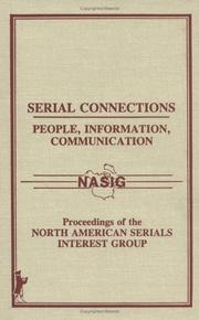 Cover of: Serial connections