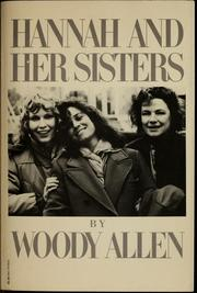 Cover of: Hannah and her sisters: [screenplay]