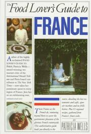 Cover of: The food lover's guide to France