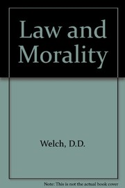 Cover of: Law and morality