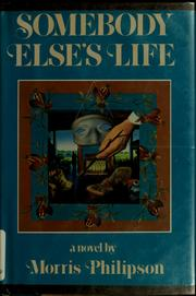Cover of: Somebody else's life