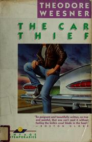 Cover of: The car thief