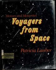 Cover of: Voyagers from space: meteors and meteorites