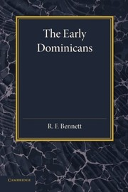 Cover of: The early Dominicans