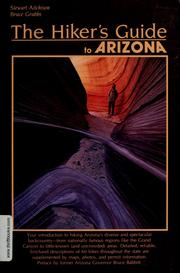 Cover of: The hiker's guide to Arizona