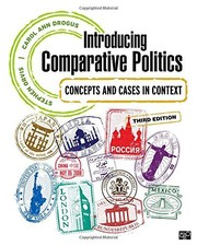 Cover of: Introducing comparative politics