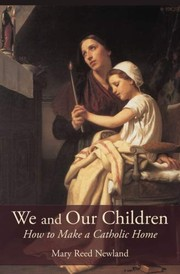Cover of: We and our children