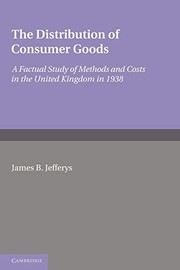 Cover of: The distribution of consumer goods