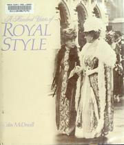 Cover of: A hundred years of royal style