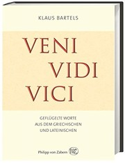 Cover of: Veni, vidi, vici