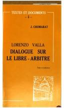 Cover of: Dialogue sur le libre-arbitre