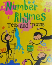 Cover of: Number rhymes