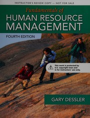 Cover of: Fundamentals of human resource management: content, competencies, and applications