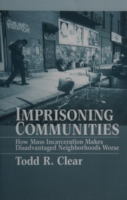 Cover of: Imprisoning communities