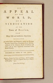 Cover of: An appeal to the world