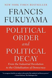 Cover of: Political order and political decay