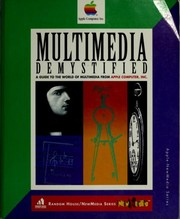 Cover of: Multimedia demystified