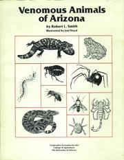 Cover of: Venomous animals of Arizona