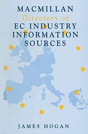 Cover of: Macmillan directory of EC industry information sources