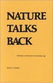 Cover of: Nature talks back