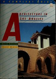 Cover of: Architecture in Los Angeles
