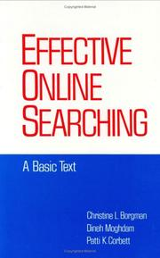Cover of: Effective online searching