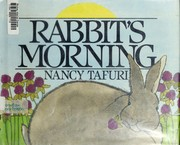 Cover of: Rabbit's morning