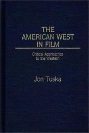Cover of: The American West in film