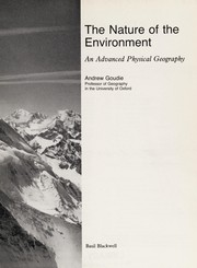Cover of: The nature of the environment