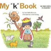 "Cover of: My ""k"" book"