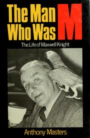 Cover of: The man who was M