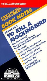 Cover of: Harper Lee's To kill a mockingbird