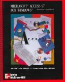 Cover of: Microsoft Access 97 for Windows
