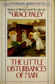 Cover of: The little disturbances of man