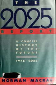 Cover of: The 2025 report