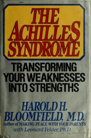 Cover of: The Achilles syndrome