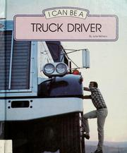 Cover of: I Can Be a Truck Driver