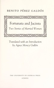 Cover of: Fortunata y Jacinta