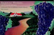 Cover of: Backroad wineries of California