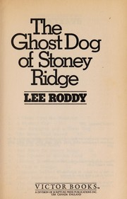 Cover of: The ghost dog of Stoney Ridge