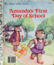 Cover of: Amanda's first day of school