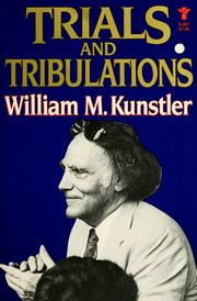 Cover of: Trials and tribulations