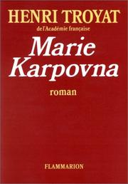Cover of: Marie Karpovna