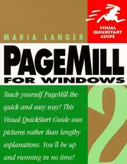 Cover of: PageMill 2 for Windows